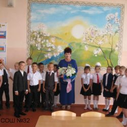 Встреча учеников 2 В класса с поэтессой Екатериной Михайловной Гранат.