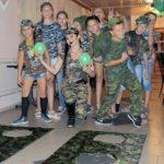 День рождения в «военной форме»